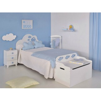 Camera da letto Nuvola con testiera