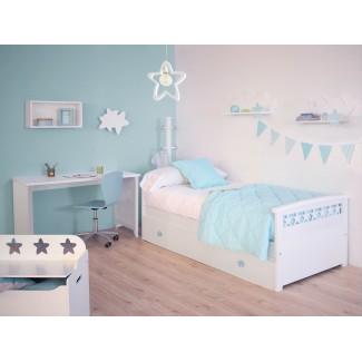 Camera da letto per bambini Stelle con letto estraibile