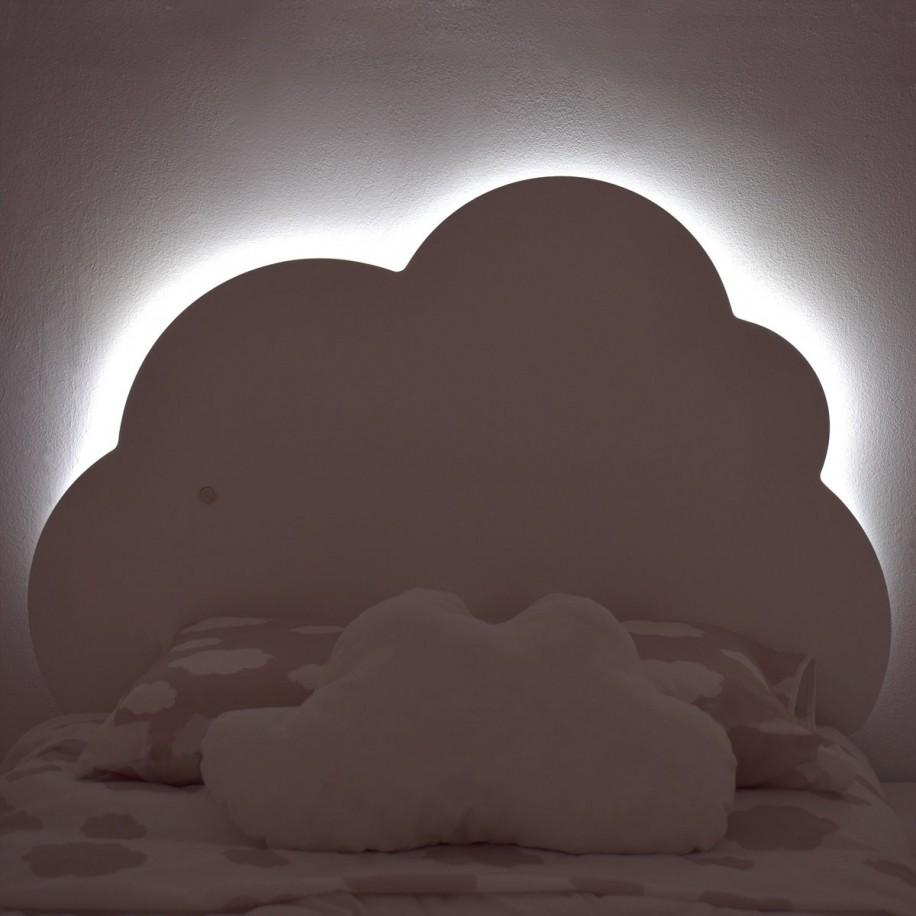 Testiera nuvola luce