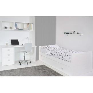 Camera da letto Lineare con letto estraibile