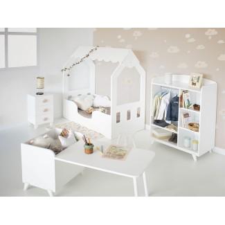 Camera da letto Montessori a Casetta con Armadio