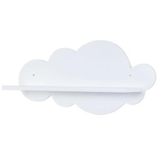 Mensola bianca da parete Nuvola