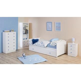 Camera da letto per bambini con letto estraibile Curvo