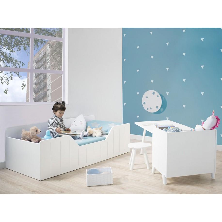 Cameretta Montessori Nao con letto Nao