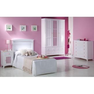 Camera da letto con testiera Curvo