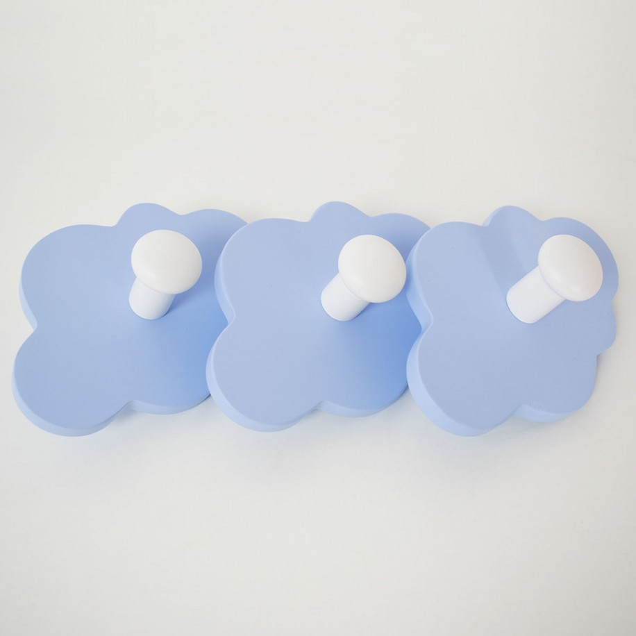 Appendiabiti a parete Nuvola blu