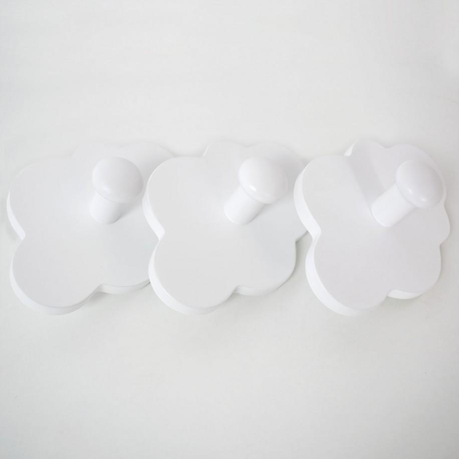 Appendiabiti a parete Nuvola bianca