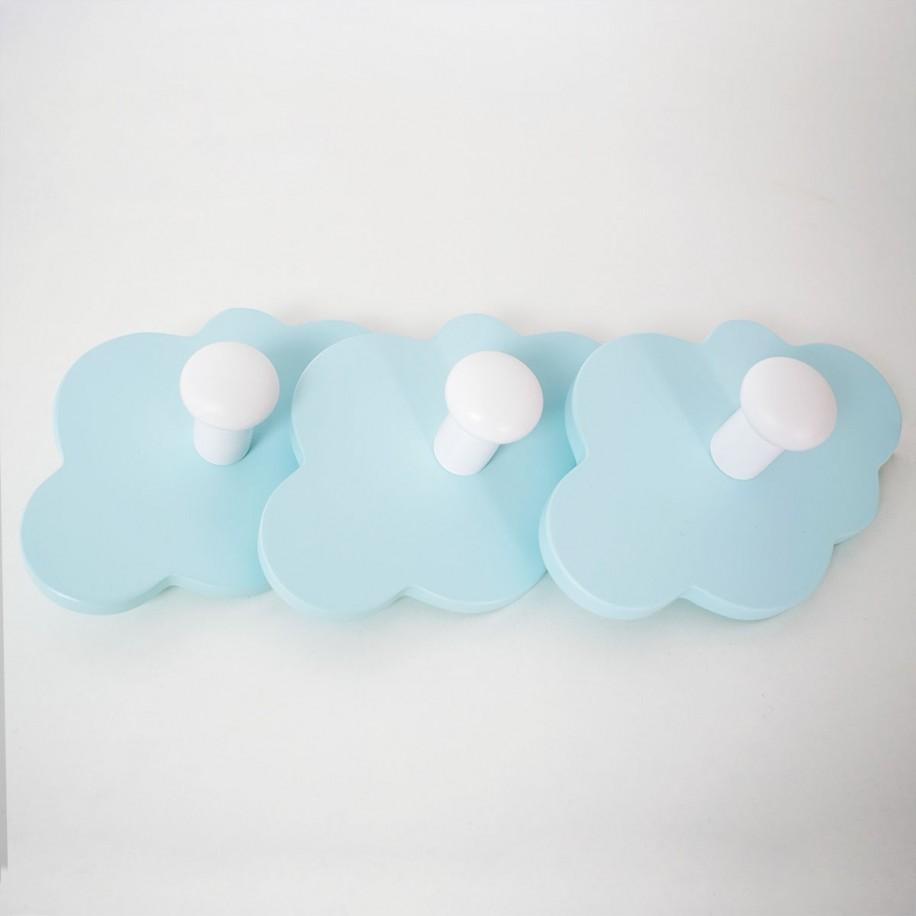 Appendiabiti a parete Nuvola menta