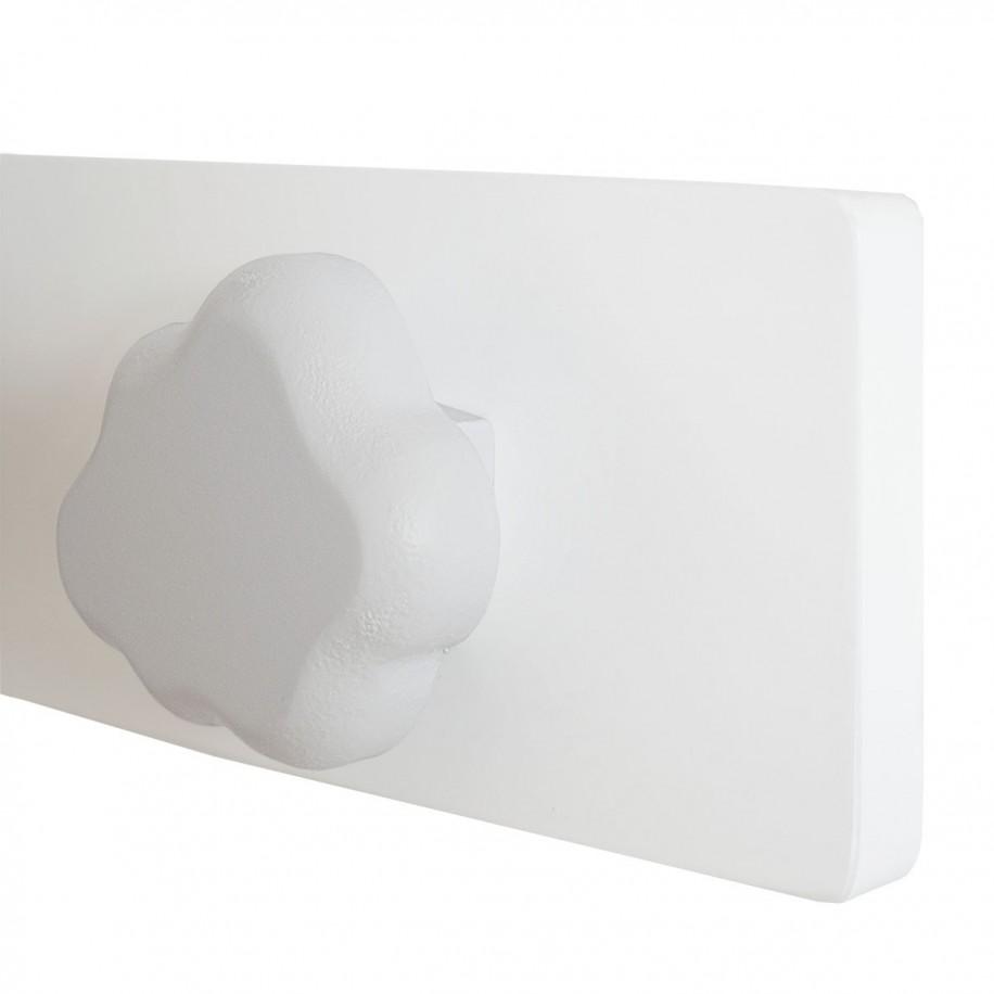 Appendiabiti da parete dettaglio nuvola grigia