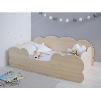 Letto Montessori Nuvola legno naturale