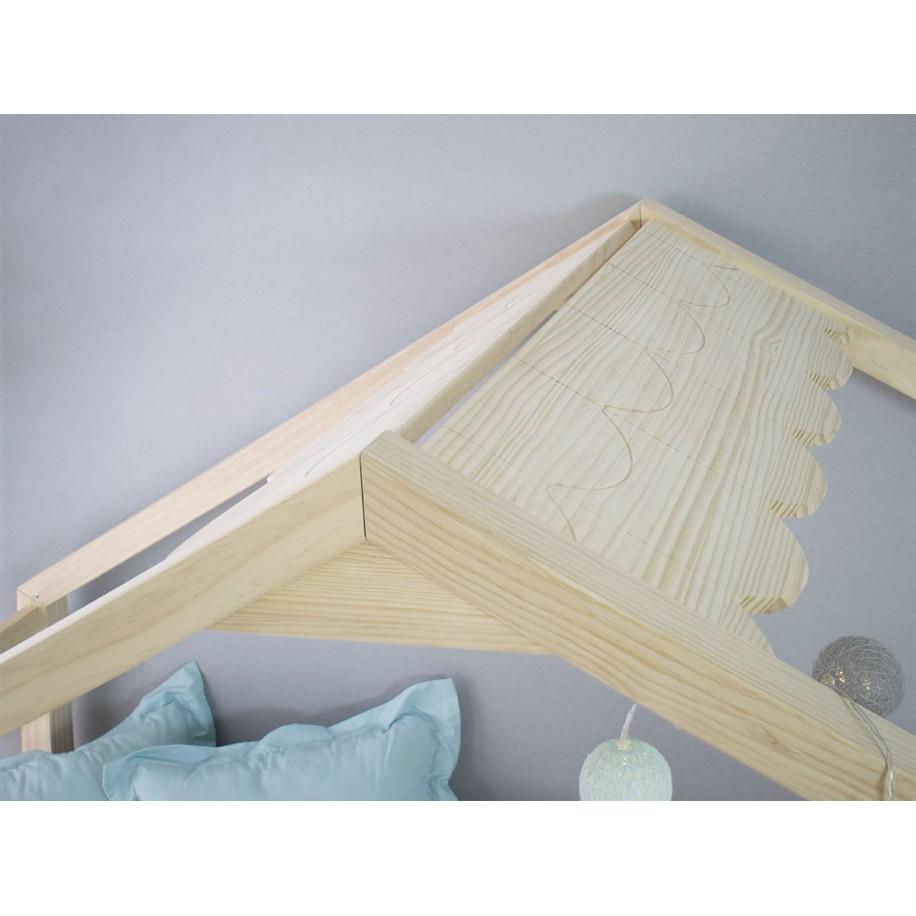 Letto Montessori dettaglio tetto