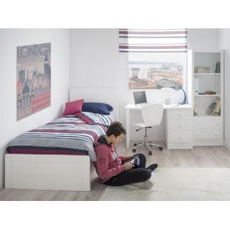 Camera da letto per ragazzi Lineare pediera bassa