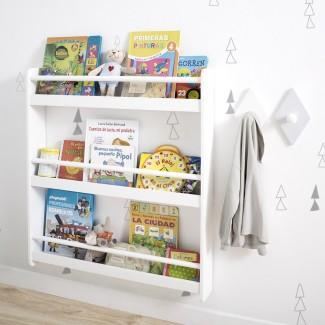 Libreria a parete per bambini Montessori
