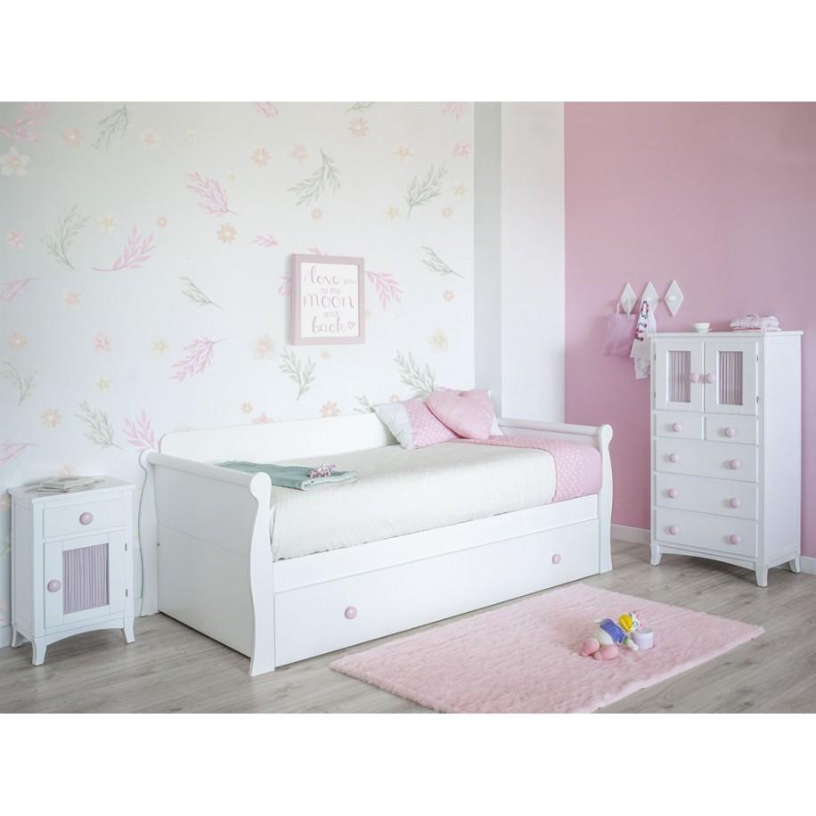 Camera da letto per bambini Gondola con letto estraibile