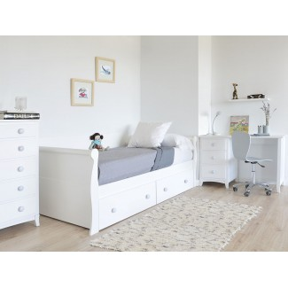 Camera da letto Gondola letto con cassetti