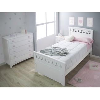 Camera da letto per bambini cuore